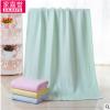厂家直销竹纤维毛巾 蜂巢浴巾 柔软婴儿毛巾 舒适吸水浴巾批发定
