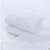 白毛巾批发厂家直批纯棉酒店美容院宽缎螺旋毛套巾纯棉白色毛巾