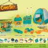 儿童过家家大号带灯光户外探险通讯野营露营宝宝账篷玩具套装