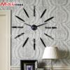 厂家批发007销超大尺寸创意diy挂钟艺术钟表现代个性背景墙静音钟