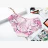 蕾丝少女性感刺绣女三角内裤棉档低腰女士内裤透明薄纱-杜鹃花