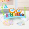 汇乐玩具909八音手敲琴八音琴小木琴婴幼儿童宝宝益智音乐玩具1岁