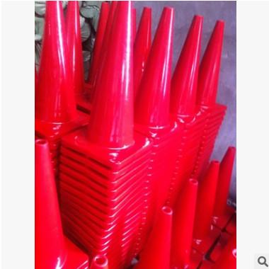 PU反光塑胶路锥路障500MM耐压防撞路锥雪糕筒车位锥