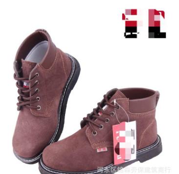 厂家直销劳保防穿刺防护鞋 耐酸耐碱钢板防砸牛皮鞋