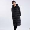 【道木熙】18秋冬新款韩版长款加厚连帽时尚羽绒服女装厂家批发