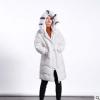 【道木熙】18秋冬新款韩版宽松长款连帽时尚羽绒服女装厂家批发