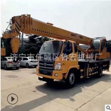 12吨东风汽车吊 国五徐工臂小型吊车 性能优越坚固耐用