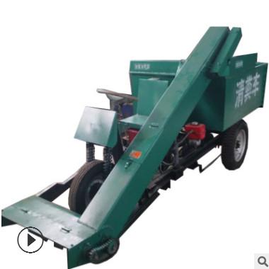 柴油清粪车厂家 养牛用清粪车规格 18马力柴油清粪车图片