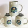 【500ML 陶瓷啤酒杯 】陶瓷扎啤杯 广告啤酒杯 定制logo