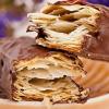 成品蛋糕店巧克力千层酥半成品 纯动物黄油拿破仑酥皮 冷冻半成品