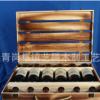 新款高档六支装仿古烤色红酒盒 木制六支l红白酒盒