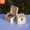 厂家现货批发圣诞节苹果包装盒木质平安夜苹果木盒蛇果礼品盒定制