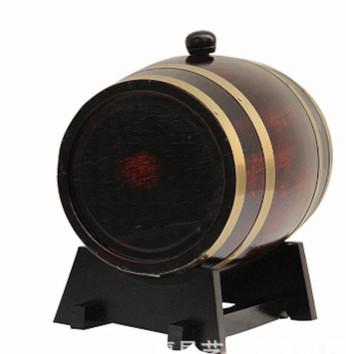 厂家供应50L木质酒桶 橡木卧式酒桶 松木红酒桶白酒桶葡萄酒桶