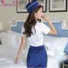 霏慕情趣内衣性感衣服小胸连体空姐制服诱惑包臀短裙激情套装日本