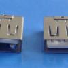 生产销售AF短体侧插USB母座 短体长体贴片侧插USB母座 批发订制