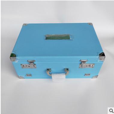 厂家直销PU皮化妆箱 礼品包装箱 手提帯镜化妆箱 各种箱包可定制