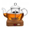 SEILER电热水壶煮茶器玻璃保温蒸气电茶壶黑茶普洱煮茶壶批发