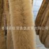 棕色獭兔毛条辅料 衣服围巾帽子专用兔皮条 家兔夹心条定做