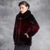 批发新款加厚冬装中老年仿貂绒貂毛大衣中年女妈妈装加大保暖外套