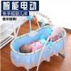 批发婴儿电动摇篮宝宝摇床儿童床多功能婴儿床便携式折叠电动摇床