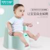 宝贝时代儿童坐便器 靠背马桶男宝宝座便器婴幼儿便盆加大号尿盆