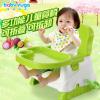 宝贝时代小孩吃饭餐桌椅 宝宝折叠椅 婴儿多功能便携式儿童餐椅