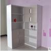 汉森板式文件柜多层自由组合展示柜2门办公室柜子简约书柜资料柜
