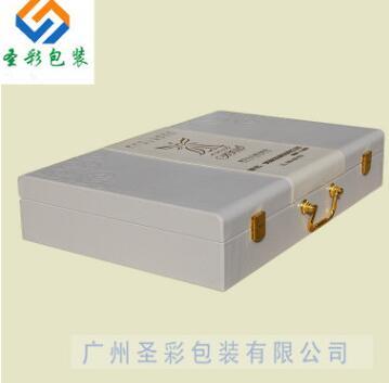高品质仿皮盒+PU皮 压纹