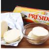 供应总统淡黄油(卷)/无盐黄油250g*24块/箱 保质期新鲜19年8月