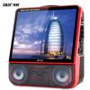先科广场舞音响带显示屏便携视频K歌大功率无线话筒移动户外音箱
