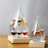 玻璃悬浮彩球伽利略温度计套装礼品盒包装 情人节创意新奇特礼物