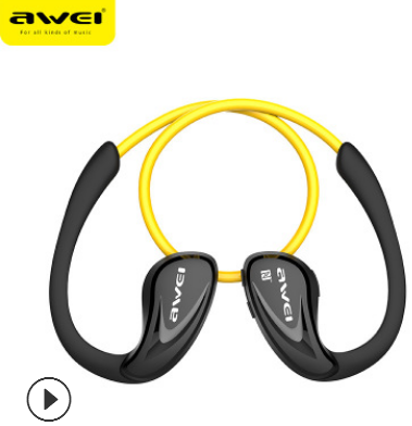 跨境专供Awei用维A880BL运动蓝牙耳机4.0头戴式耳塞跑步无线耳机