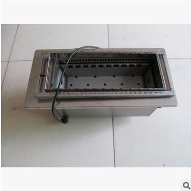 专业供应木炭自动翻转烧烤机 自助旋转不锈钢烧烤炭炉 可订做