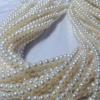 淡水珍珠 项链批发5-6mm近圆老张珠宝可手工亚博体育app在线下载首饰手链耳钉