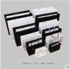 现货防水黑卡白卡手提袋服装手提袋广告袋定做购物袋可加印或加烫