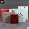 手提牛皮纸袋定做方底通用服装购物袋定制环保彩印礼品纸袋印logo
