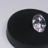 优白D色莫桑石裸石 圆形人造钻石 火彩十足克拉钻莫桑钻 现货批发