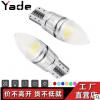 汽车LED示宽灯 T10 5W5 子弹头透镜车灯解码大功率3W 阅读灯