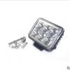 厂家直销 汽车led射灯 3英寸18W双排6灯 反光杯 摩托车前照灯雾灯