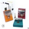 拇指琴17音实木初学者厂家直销抖音同款卡林巴入门kalimba手指琴