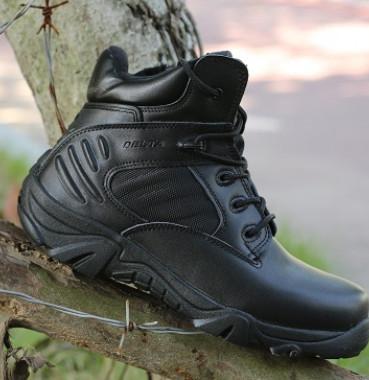 三角洲户外沙漠战术靴 登山战术靴男 低帮战术靴子 迷彩战术军靴