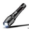 厂家批发远射X9伸缩变焦T6手电筒铝合金强光防水户外充电手电打猎