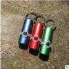 3灯钥匙扣 电子灯 挂钥匙椭圆3灯 金属电子灯 迷你手电筒礼品
