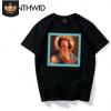 2019文艺复古圣母玛利亚速卖通爆款男女短袖T恤上衣衬衫大码欧美