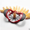 创意不锈钢苹果切割神器 厨房多功能水果去核分割器 家用切果工具