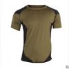 厂家直销男装短袖t恤男夏季新款圆领男士运动衫速干透气健身上衣