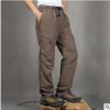厂家批发定做速干裤超轻速干透气男女款光板冲锋裤可印商标QX1331