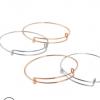 工厂直销欧美流行推拉手镯 diy伸缩手环 可活动调节alex钢丝手环