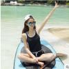 厂家直销2019款性感分体泳装沙滩系带时尚女士泳衣爆款