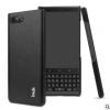 IMAK 适用于BlackBerry 黑莓KEY2 睿翼系列PU保护套 (黑色)